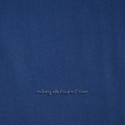 Batiste unie frou-Frou bleu intense