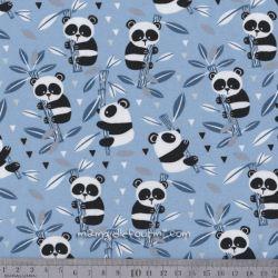 Jersey panda bleu