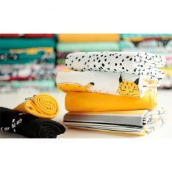 Bord-côte bio jaune soleil