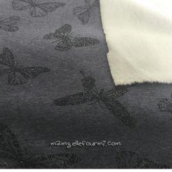 Sweat-minkee papillons scintillant