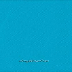 Maille polo bleu turquoise