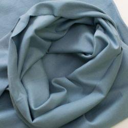 Bord-côte bio tubulaire bleu/gris