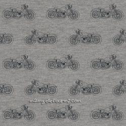 Sweat/molleton motorcycle