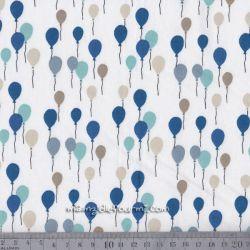 Coton envol bleu
