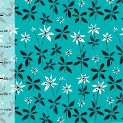 Jersey bio starflower turquoise