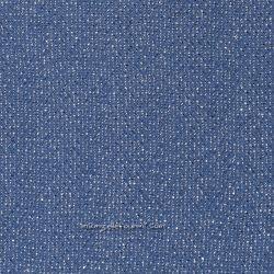 Maille lurex bleu jean/argent