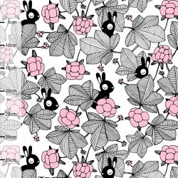 Coton bio hilda rose