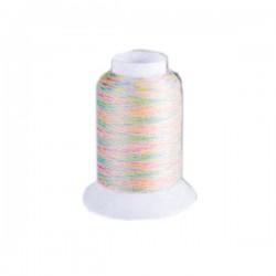 Fil mousse Wooly Nylon multicolore pastel