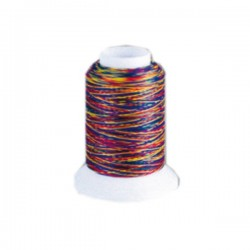 Fil mousse Wooly Nylon multicolore vif