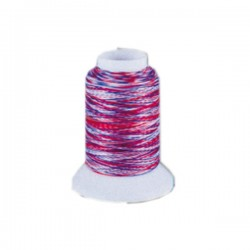 Fil mousse Wooly Nylon multicolore cocorico