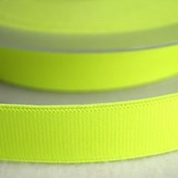 Élastique ceinture jaune fluo