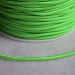 Élastique rond vert fluo