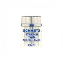 Aiguille Schmetz double spéciale stretch