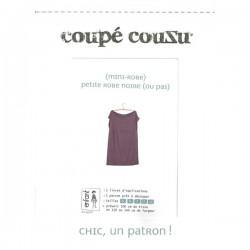 Patron Coupé couZu Petite robe noire (ou pas)