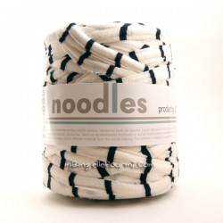 Noodles rayé bleu/blanc
