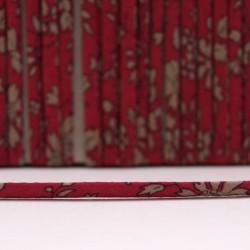 Cordon Liberty Capel rouge foncé
