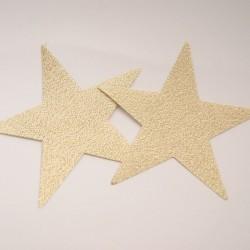 Motif étoile doré
