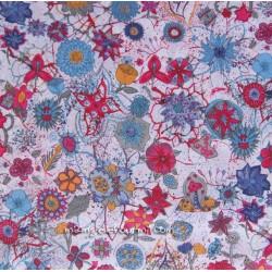 Liberty Macleod bleu/fuchsia