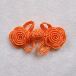 Brandebourg fleur orange