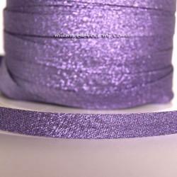 Biais scintillant violet