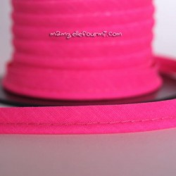 Passepoil fluo rose flashy