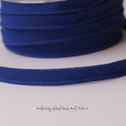 Passepoil uni bleu roi
