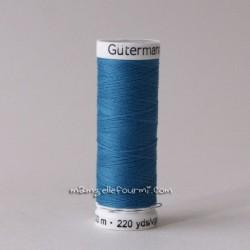 Fil Gütermann 200m bleu