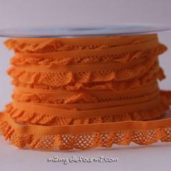 Élastique volanté orange