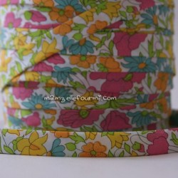 Biais Poppy Daisy multicolore