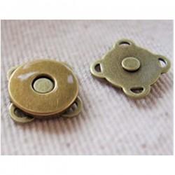 Bouton magnétique à coudre 14 mm