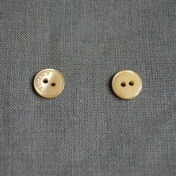 Bouton mini vieil or
