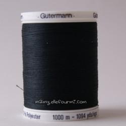Fil Gütermann 1000m noir