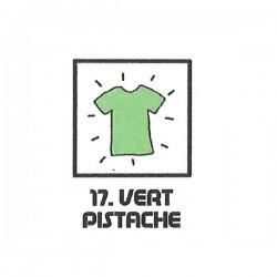 Teinture textile vert pistache