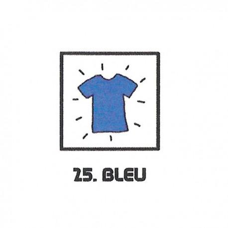 Teinture textile bleu