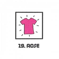 Teinture textile rose