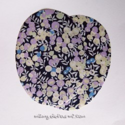 Coudières Liberty Wiltshire bleu-mauve