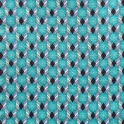 Coton palazzo turquoise