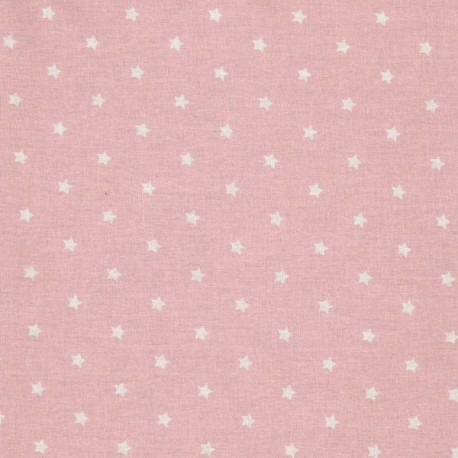 Enduit étoiles rose pâle