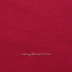 Jersey bio stretch rouge