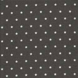 Enduit étoiles gris foncé