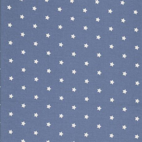 Enduit étoiles bleu/gris