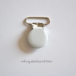 Attache clip bretelle blanc