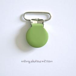 Attache clip bretelle vert