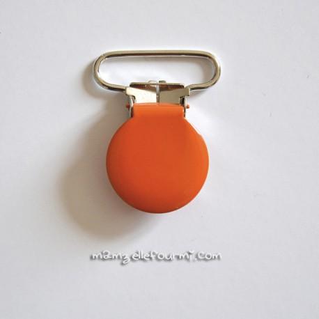 Attache clip bretelle orange