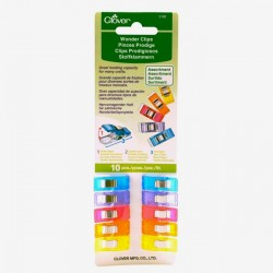 10 Pinces prodige Clover multicolores