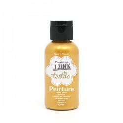 Peinture textile IZINC gold