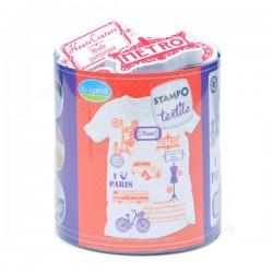 Stampo textile IZINC - Paris