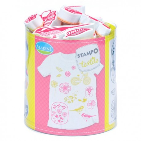 Stampo textile IZINC - Fleurs