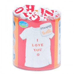 Stampo textile IZINC - Alphabet
