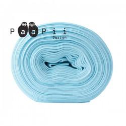 Bord-côte bio bleu clair